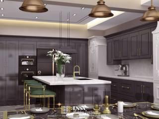 villa Modern Mutfak EN+SA MİMARİ TASARIM DEKORASYON MOB.İNŞ.SAN. VE TİC .LTD. ŞTİ Modern