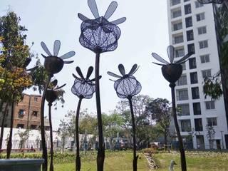 mrittika, the sculpture 購物中心 鐵/鋼 Black