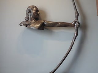 mrittika, the sculpture 平房 銅/青銅/黃銅 Brown
