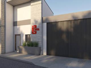 Рабочий кабинет в стиле лофт от MA Arquitectos Лофт