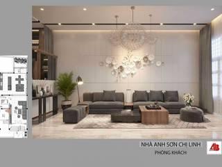 Thiết kế nội thất nhà ở phong cách hiện đại, cuốn hút bởi Thiết Kế Nội Thất - ARTBOX