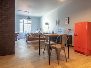 Apartment Staging: industrial  by Eden Interiors (Pty) Ltd, Industrial