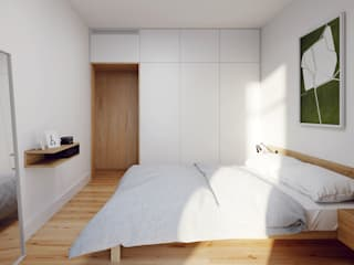 FMO ARCHITECTURE Minimalist bedroom White
