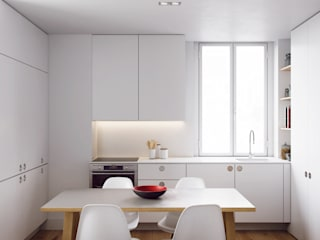 FMO ARCHITECTURE Built-in kitchens White