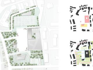 Planta de Implantação e Pictogramas | Site Plan and Diagrams por FMO ARCHITECTURE