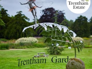 Fern Leaf Sculpture for Fantasy Wire LTD ( Trentham Gardens) Logi Engineering Limited Event venues Iron/Steel Metallic/Silver