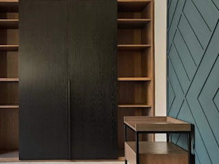 Modern Study Room and Home Office by Carlos Alberto Modern