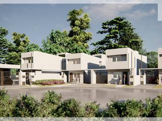 Proyecto viviendas multifamiliares, en Tunuyán, Mendoza de Estudioarqo Moderno