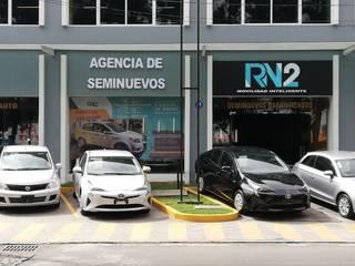 Diseño de Agencia de autos y oficinas Modena Arquitectura, S.A. de C.V. Garajes modernos