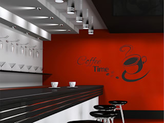 Adesivi murali per cucina di INTERNI & DECORI Moderno