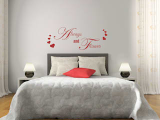 Adesivi murali per camera da letto di INTERNI & DECORI Moderno