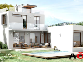 AOG Detached home Solid Wood White