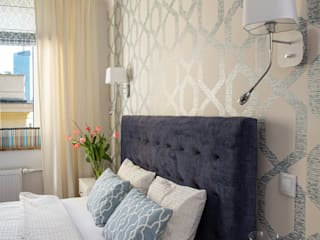 IDEALS . Marta Jaślan Interiors Classic style bedroom
