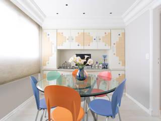 Projeto fotografia apartamento com estilo clássico em Aclimação Salas de jantar clássicas por Sébastien Abramin Fotógrafo de arquitetura Clássico