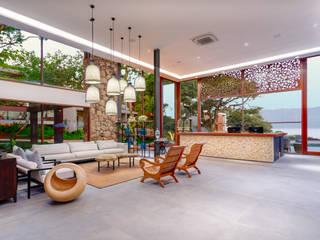 Projeto fotografia hotel Wyndham Ilhabela - Casa Di Sirena Hotéis modernos por Sébastien Abramin Fotógrafo de arquitetura Moderno