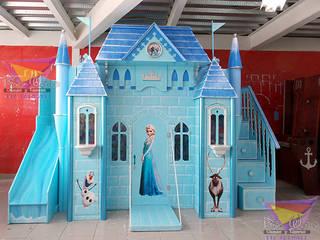 Kids Wolrd- Recamaras Literas y Muebles para niños Nursery/kid's roomBeds & cribs Engineered Wood Turquoise