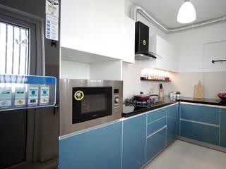 Parimala Skyview HomeLane.com Built-in kitchens