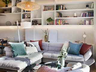 Egue y Seta Eclectic style living room