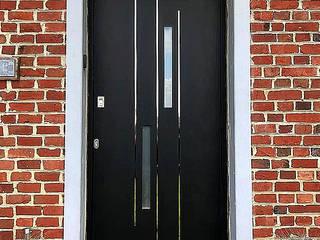 Indupanel Windows & doors Doors Black