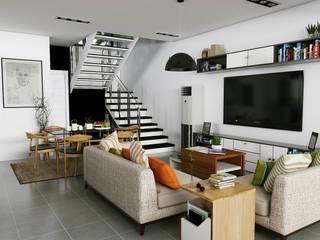 Sta Catalina Residences by JPSolatorio Architectural Design Services Modern