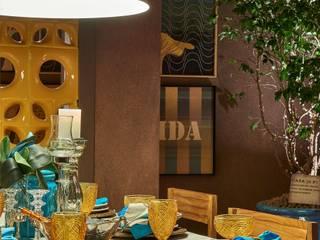PROJETO COZINHA COM BRASILIDADE por Aadna.Design Eclético