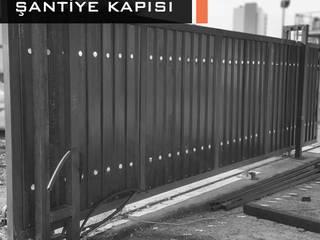 Şantiye Kapıları Bayrakcı Metal İnşaat Endüstriyel