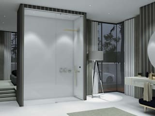 Modern style bathrooms by Fator Banho Modern