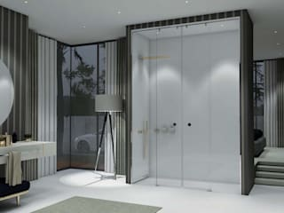 Minimalist bathroom by Fator Banho Minimalist