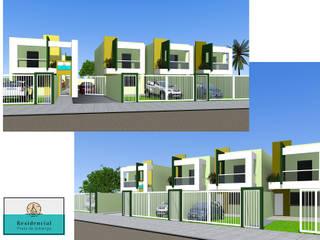Residencial Praia de Ipitanga por ARQ-PB Arquitetura e Construção Moderno
