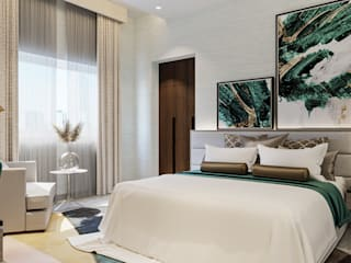 Ways to Slay that High Lux Look for your Interior Remodel ERWIN ERENO DESIGN STUDIO CO Modern style bedroom