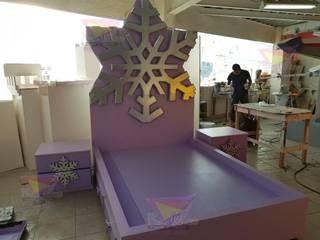 Kids Wolrd- Recamaras Literas y Muebles para niños Nursery/kid's roomBeds & cribs Engineered Wood Purple/Violet