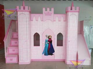 Kids Wolrd- Recamaras Literas y Muebles para niños Nursery/kid's roomBeds & cribs Engineered Wood Pink