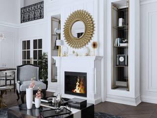 Modern Living Room by DURU İÇ MİMARLIK VE TASARIM Modern