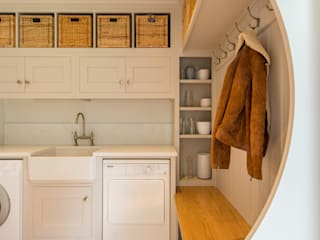 Bespoke utility and boot room by Christopher Howard by Christopher Howard Country