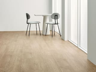 Floorwell Minimalist dining room Wood effect