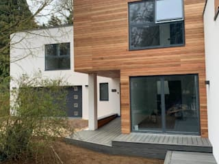 Contemporary 4 Bedroom Detached House, Burcot, Abingdon Casas modernas por Abodde Luxury Homes Moderno