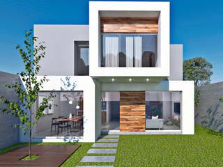 CASA EL POTRERO Casas minimalistas de ARQUITECTOS AJ Minimalista