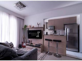Apartamento Anália Franco por Danielle David Arquitetura Moderno
