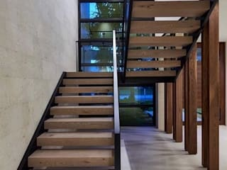 Modern Villa with Pool, Abingdon, Oxfordshire Abodde Luxury Homes Escalier