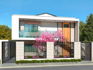 Aptos VC. de KREATE Arquitectura Moderno