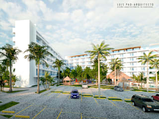 Hotel Margold. de KREATE Arquitectura Moderno