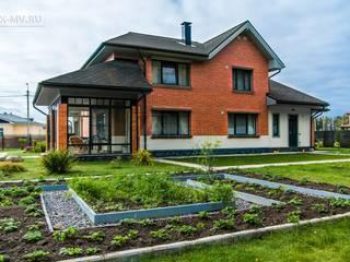 Проект загородного дома Сосновый бор 2 | 313 кв.м | sk-mv.ru от СК Медный Всадник Классический