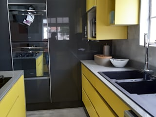 Stylish Kitchens 廚房收納櫃與書櫃 Yellow