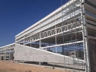 ALUCO SOLUCIONES Conference Centres Aluminium/Zinc Black