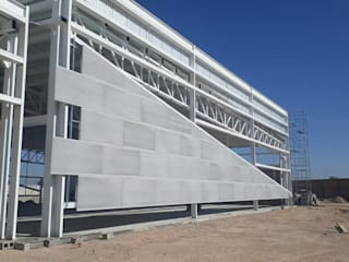 ALUCO SOLUCIONES Modern conference centres MDF Grey