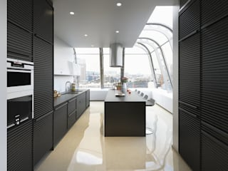 Remodelación de Departamento en Ducal Bosque Real Cdmx Salones modernos de Arquitectura Progresiva Moderno