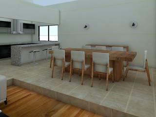 Immobiliare MX Salle à manger minimaliste