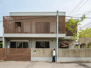音風を感じる家 モダンな 家 の murase mitsuru atelier モダン