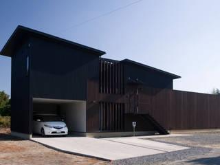 コレクターズハウス モダンな 家 の murase mitsuru atelier モダン