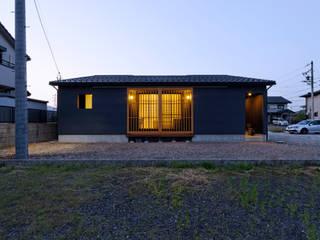 ロの家 日本家屋・アジアの家 の murase mitsuru atelier 和風
